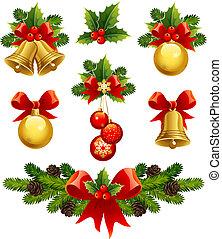 Los adornos navideños
