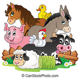 Los animales de granja tienen la imagen 2