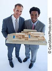 Los arquitectos tienen una casa modelo