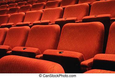 Los asientos del teatro