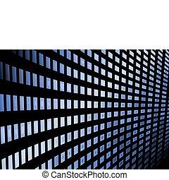 Los azulejos brillantes del vector