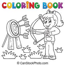 Los chicos de color juegan al tema 3