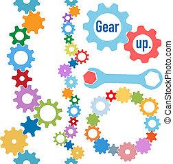 Los colores de Gears marcan la línea del círculo industrial