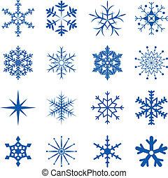 Los copos de nieve