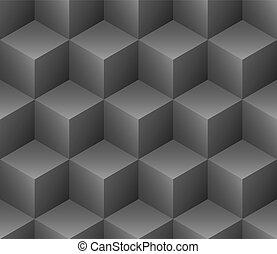Los cubos no detectan el vector