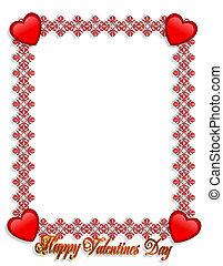 Los días de San Valentín están en la frontera
