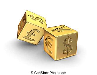 Los dados de oro