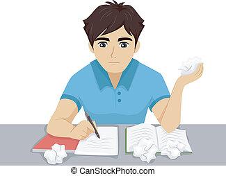 Los deberes de estudiante