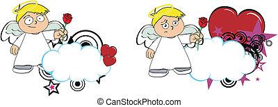 Los dibujos animados de Ángel copian a la 5