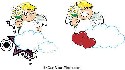 Los dibujos animados de Ángel copian el 6