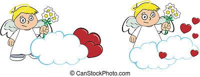 Los dibujos animados de los niños Angel copian el 3