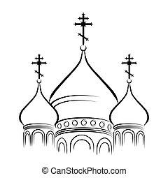 Los domos de la catedral