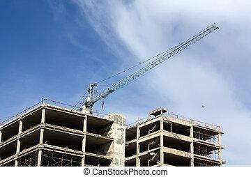 Los edificios están construidos