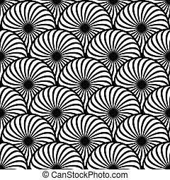 Los elementos del círculo de patrones sin sentido.
