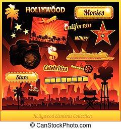 Los elementos del cine de Hollywood