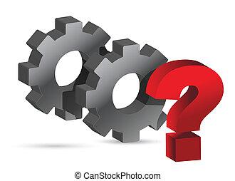 Los engranajes trabajando juntos pregunta