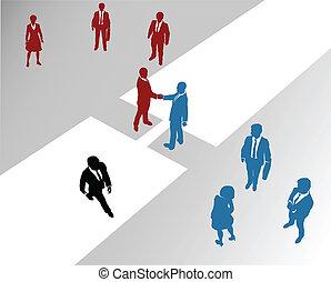 Los equipos de empresa se unen al puente de fusión 2