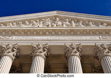 Los Estados Unidos son los pilares de la Corte Suprema
