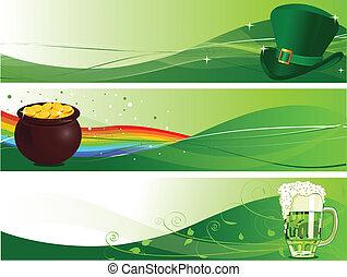 Los estandartes de San Patrick