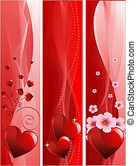 Los estandartes de San Valentín