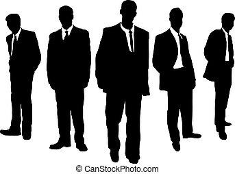 Los hombres de negocios son gangsters