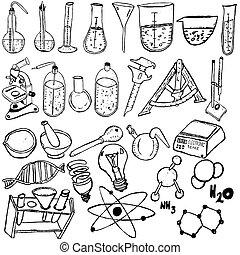 Los iconos científicos dibujan