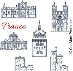 Los iconos de arquitectura de Burdeos