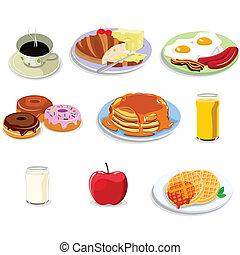 Los iconos de la comida