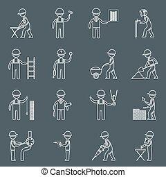Los iconos de la construcción