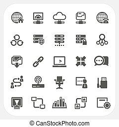 Los iconos de la red