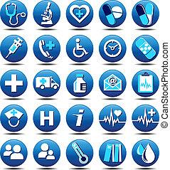Los iconos de la salud
