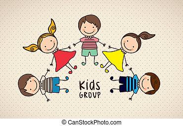 Los iconos de los niños