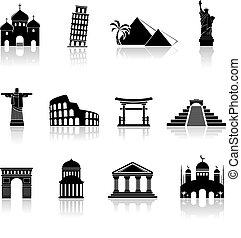 Los iconos de Vector