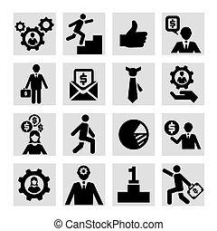 Los iconos del éxito empresarial