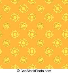 Los iconos del sol no tienen marcas