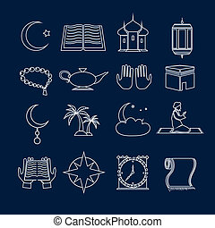 Los iconos islámicos se establecieron