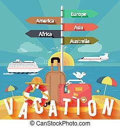 Los iconos viajan y planean unas vacaciones de verano