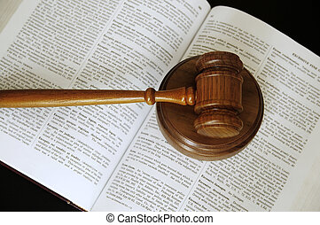 Los jueces dieron en un libro de derecho abierto