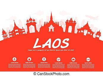 Los Laos viajan a lugares históricos.