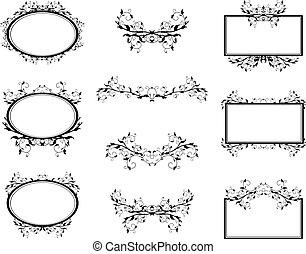 Los monogramas de Swirl marcan la frontera