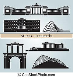 Los monumentos de Atenas