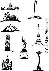 Los monumentos mundiales