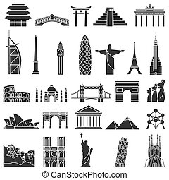 Los monumentos mundialmente famosos