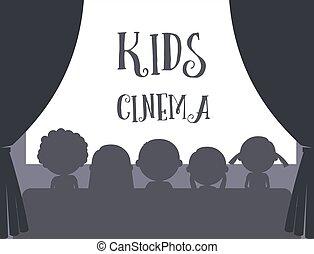 Los niños ilustran el cine
