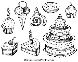 Los pasteles hacen colección