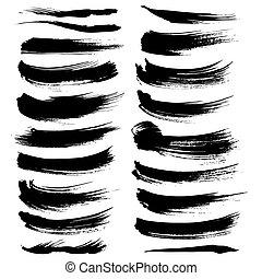 Los pinceles del vector texturados