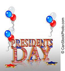 Los presidentes del día son gráficos