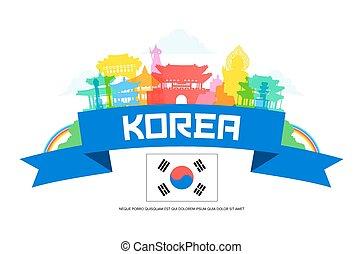 Los puntos de viaje de Corea