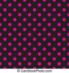 Los puntos rosados del vector son de fondo negro
