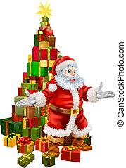 Los regalos de Navidad de Santa Claus